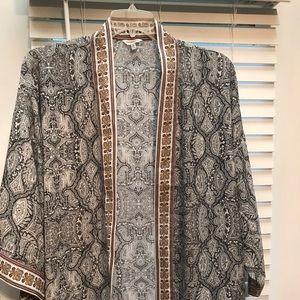 Kimono style jacket 1x never worn!